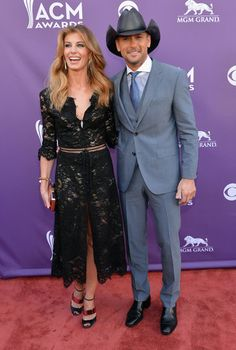 Faith Hill and Tim McGraw at the ACM Awards!