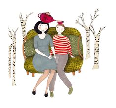 A fine art print entitled Tea by Cristina Barsony!