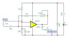 Circuito Localizador de cabos e Fios Elétricos