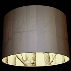 cole and son silhouette lampshade by love frankie £45 www.notonthehighstreet.com