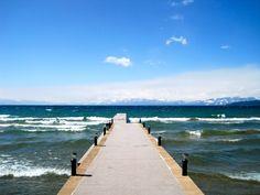 this pier. Lake Tahoe, CA.