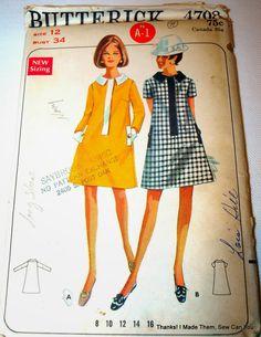 Thanks! I made them!: Craigslist Vintage Pattern Shopping