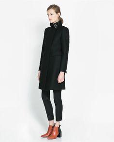 Long Black Wool Coats