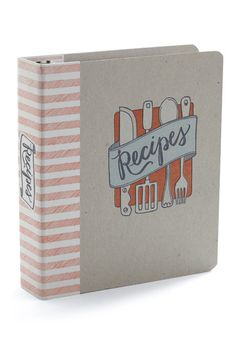 A home for your favorite recipes by Modcloth