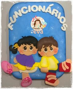Vivendo em EVA: Placas de identificação escola Cubo Mágico