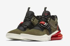 "Nike Air Force 270 ""Medium Olive/Challenge Red"" - EU Kicks: Sneaker Magazine"