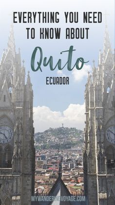 Everything you need Everything you need to know about Quito Ecuador From safety tips to things to see this is your guide to the Ecuadorian capital city of Quito. A must-see place for any South American traveller Ecuador Travel, Brazil Travel, Colombia Travel, Cuenca Ecuador, Backpacking South America, South America Travel, South America Destinations, Travel Destinations, Holiday Destinations