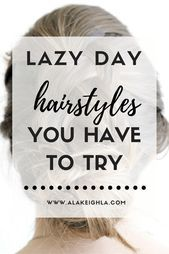 Second day hair? Whether you keep your locks healthy with a once a week wash, or just hit the snooze too many times and had no time to wash your hair, I've got you. Second Day Hairstyles, Greasy Hair Hairstyles, Easy Hairstyles For Long Hair, Curled Hairstyles, Hairdos, Updos, Long Fine Hair, Fine Curly Hair, 2nd Day Hair
