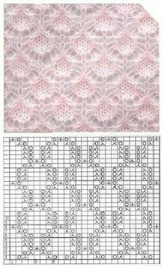 283 × 466 Pixel 283 × 466 Pixel , History of Knitting Yarn. Lace Knitting Stitches, Lace Knitting Patterns, Knitting Charts, Lace Patterns, Knitting Yarn, Baby Knitting, Stitch Patterns, Points, Wall Photos