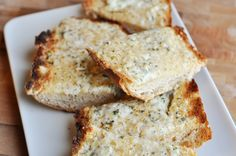Mel's Kitchen Cafe | Cheesy Garlic Bread - Tried it, but mine didn't end up quite garlicy...