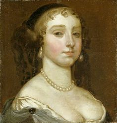 Portrait of an Unknown Lady, style of Anthony van Dyck