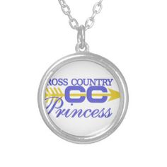Cross Country Princess Silver Plated Necklace