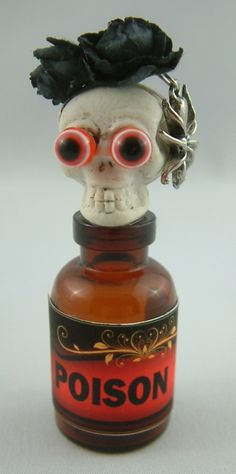Poison - Join me at Artfully Musing in September 2012 for the Pretty Potions and Poisons Apothecary Event