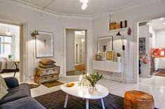 Exceptional Scandinavian Fitting in a Beautiful Apartment with 3 Rooms and 79 Square Meters