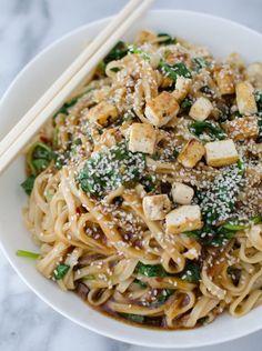 Sesame+Garlic+Stir+Fry+Noodles