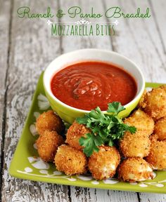 Ranch Panko Mozzarella Balls