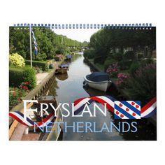 Fryslan/ Friesland Calendar - photography gifts diy custom unique special