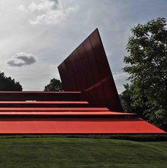 Pavillon Serpentine Gallery par Jean Nouvel