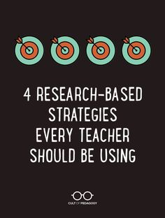 Four Research-Based Strategies Every Teacher Should be Using Learn the simple, quick strategies cognitive scientists say can boost student learning in. Instructional Coaching, Instructional Strategies, Instructional Design, Instructional Technology, Teaching Methods, Teaching Strategies, Teaching Ideas, Siop Strategies, Differentiation Strategies