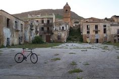palcoda. ghost town in italy
