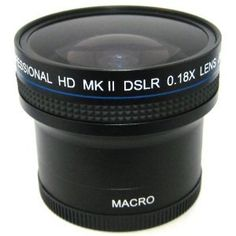 0.18x Wide Angle Fisheye Lens With Macro lens For The Nikon D3000 D5000 $40.20