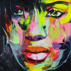 """Francoise Nielly - http://www.francoise-nielly.com/ - Funky Art - Funk Gumbo Radio: http://www.live365.com/stations/sirhobson and """"Like"""" us at: https://www.facebook.com/FUNKGUMBORADIO"""