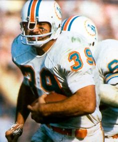 Larry Csonca Legendary 1970's Miami Dolphin Full Brutal Full Back part of the 1972 undefeated Team.