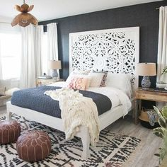 Catch the latest Home Decor Trends! Pictured above is the trend 'Go Darker!' | Follow rickysturn/home-styling & rickysturn/diy-home-decor for the latest trends