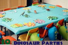 30 dinosaur parties - awesome resource for party planning