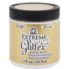 Plaid Folk Art Extreme Glitter Paint