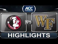 GAME 9: Florida State vs. Wake Forest | 2013 ACC Football Highlights [Winston-Salem, NC] Nov. 9, 2013 | FSU-59  Wake Forest-3