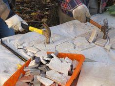 tiled table smash tiles