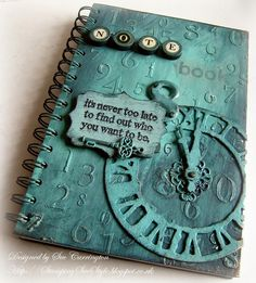 Stamping Sue Style: Altered note book
