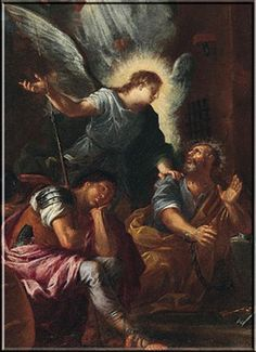 St. Peter, Apostle and First Pope - deliverance from prison by an Angel