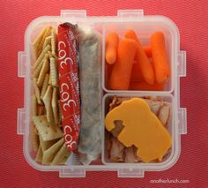 easy waste-free bento by anotherlunch.com, via Flickr