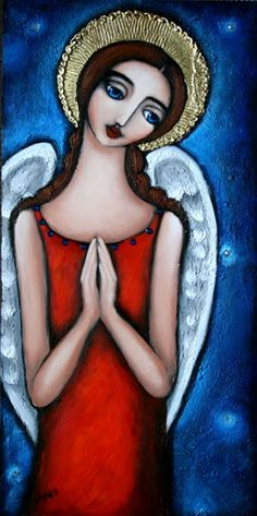 New Paintings, Work in Progress and the odd Reflection Pablo Picasso, Angel Clouds, Art And Craft Shows, Angels Among Us, Angel Art, Beach Art, Art Blog, Folk Art, Art Projects