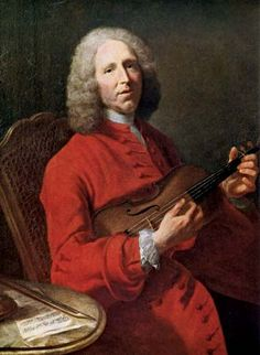 Jean-Philippe Rameau by Jacques-André-Joseph Aved, mid-18th century