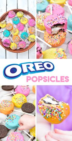 [ad] OREO Cookie Popsicles are the perfect treat for your summer BBQ! Part ice cream sandwich, part popsicle, these frosty treats are great for mixing up traditional BBQ fare. Create this crowd pleasing dessert with only three ingredients #NABISCO #BBQREMIX