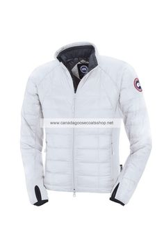 New Canada Goose Men's Expedition Parka White