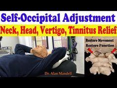 (41) Self-Occipital Adjustment for Upper Neck Pain, Head, Migraine, Tinnitus, Vertigo - Dr Mandell, DC - YouTube