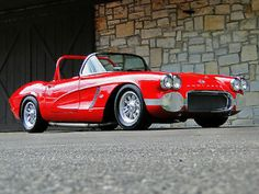 1962 Corvette Race Car...Re-pin...Brought to you by #HouseofInsurance for #CarInsurance #EugeneOregon