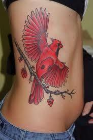 Cardinal Tattoos And Designs-Cardinal Tattoo Ideas And Meanings One tattoo of the. - Cardinal Tattoos And Designs-Cardinal Tattoo Ideas And Meanings One tattoo design that you may find - Bird Tattoos For Women, Red Bird Tattoos, Paisley Tattoos, Animal Tattoos, Tattoos For Guys, Makeup Tattoos, Body Art Tattoos, Tatoos, Cardinal Tattoos