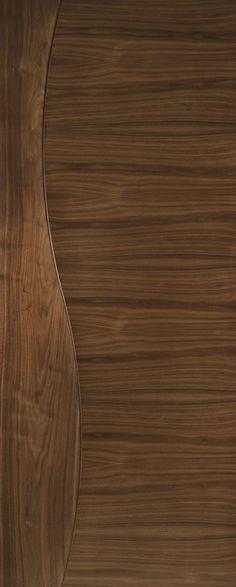 Cadiz Grooved Internal Pre-finished Walnut Doors