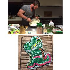 Chris Hemsworth Baked the Most Adorable Cake for His Daughter's Birthday | E! Online