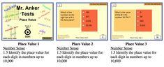 Place value Tens Place, Value Set, Integers, Place Values, Number Sense, Places, Lugares