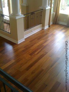 Hardwood Flooring - Natural Teak