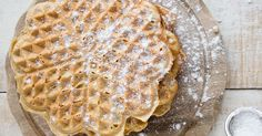 A nourishing weekend breakfast afternoon treat: These protein-packed, sugar free almond butter waffles are gluten free, paleo and low carb.