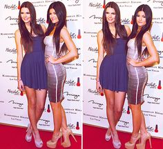 Kendall and Kylie Jenner a kardashian khaos in Las Vegas