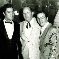 Elvis Presley, Colonel Tom Parker & Faron Young
