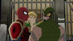 ultimate spiderman iron fist | Ultimate Spider-Man needs an Iron Fist to deal with The Scorpion